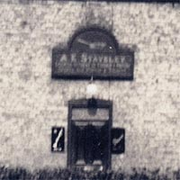 "Plough Inn, Hayton; Proprietor ""A E Staveley"""